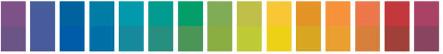 Индикаторные полоски. Цветовая шкала